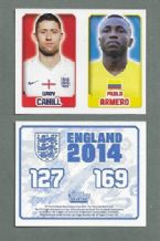 England Gary Cahil Chelsea 169 Pablo Armero West Ham United 127